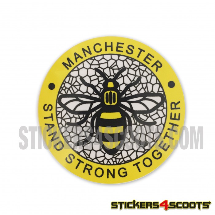 Manchester Bee Stand Strong Sticker
