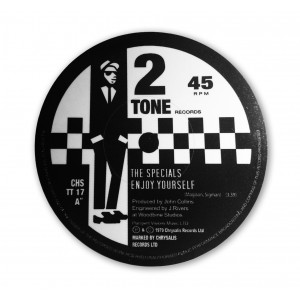 Enjoy Yourself -  The Specials - Record Label Vinyl Sticker