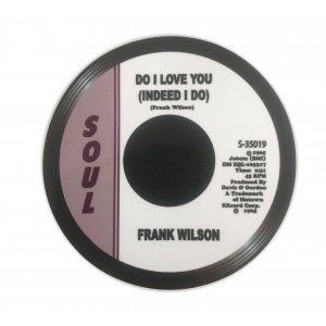 Do I Love You, Indeed I Do -  Frank Wilson  - Record Label Vinyl Sticker