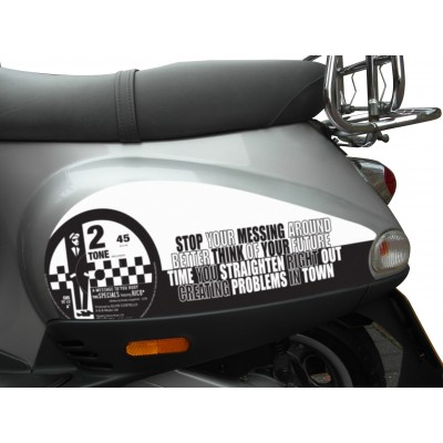 Specials Side Panel Stickers fits Vespa ET2 ET4 LX Scooter