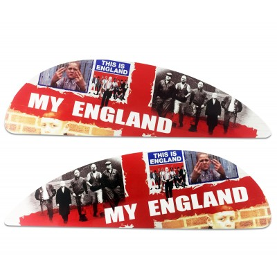 This is England Side Panel Stickers fits Vespa PX T5 Scooter