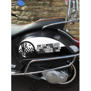 Specials Side Panel Stickers fits Vespa GTS Scooter