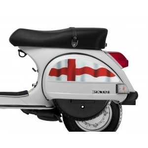 England Flag St George Side Panel Stickers fits Vespa PX T5 Scooter