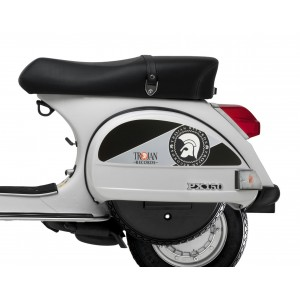 Trojan Side Panel Stickers fits Vespa PX T5 Scooter
