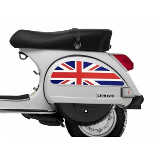 Union Jack Side Panel Stickers fits Vespa PX T5 LML Scooter