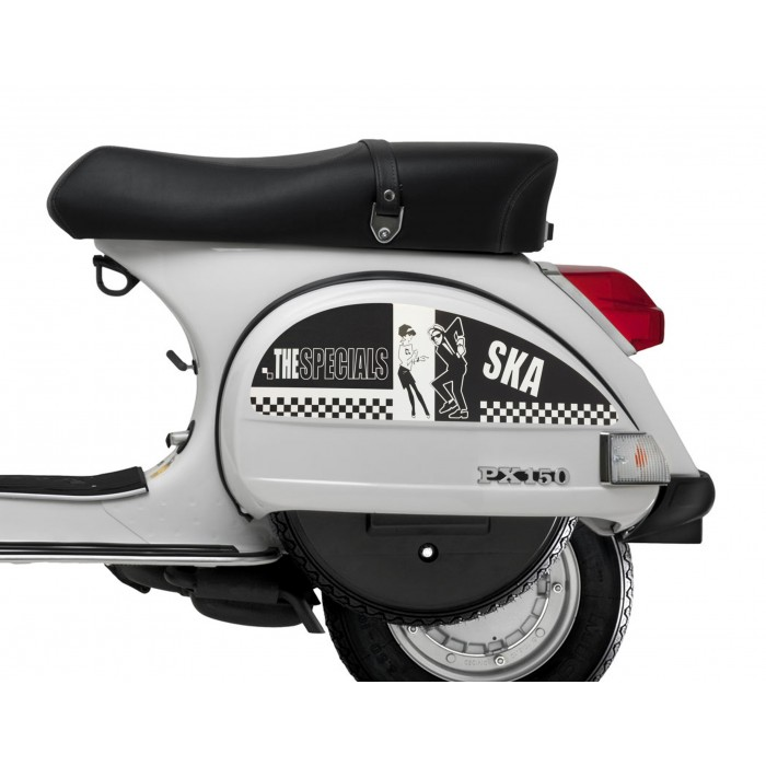 Ska Specials Side Panel Stickers fits Vespa PX T5 Scooter