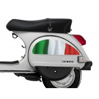 Italian Flag Side Panel Stickers fits Vespa PX T5 Scooter