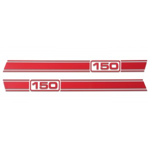 Lambretta LI Stripe Kit - Gloss Red 125 150 175 200 225
