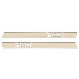 Lambretta LI Stripe Kit - Cream / Beige 125 150 175 200 225