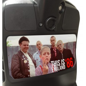 This is England Glove Box Sticker fits Vespa GTS Scooter Tool Box
