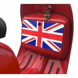 Union Jack Box Sticker fits Scomadi / Royal Alloy Scooter