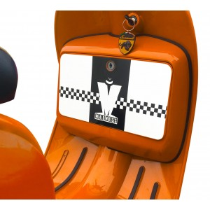 Madness Ska Glove Box Sticker fits Scomadi / Royal Alloy Scooter