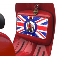 The Who Union Jack Tool Box Sticker fits Scomadi / Royal Alloy Scooter