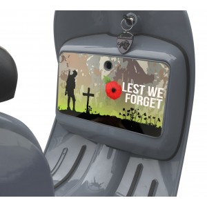 Lest We Forget Camo Tool Box Sticker fits Scomadi / Royal Alloy Scooter