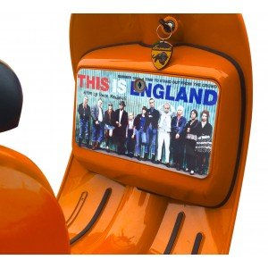 This is England Tool Box Sticker fits Scomadi / Royal Alloy Scooter