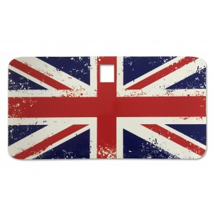 Distressed Union Jack Glove Box Sticker fits Vespa PX T5 LML